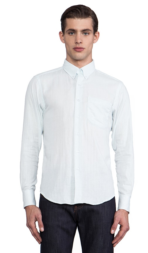 Slim Shirt Double Weave Gauze