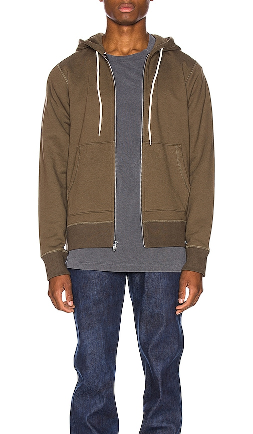 Naked And Famous Tops Zip Hoodie
