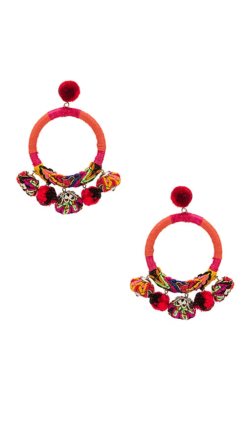 Nannacay x REVOLVE Hera Earrings in Orange