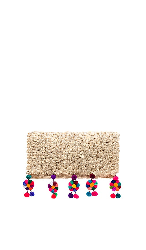Nannacay Buriti Clutch in Beige
