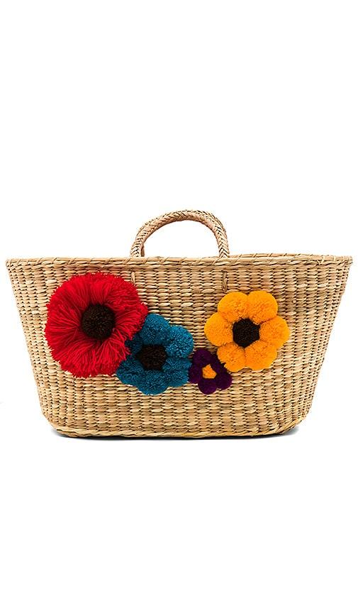 Nannacay The Garden Bag in Beige