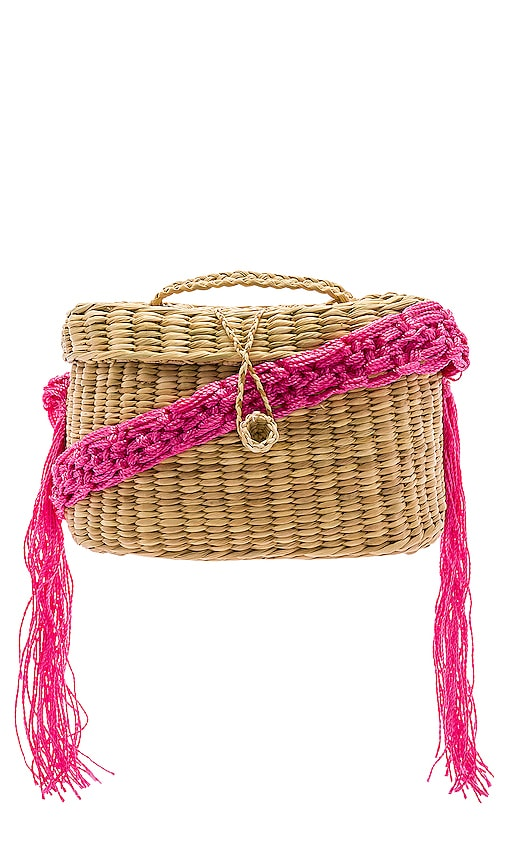Kiki Small Macrame Strap Bag