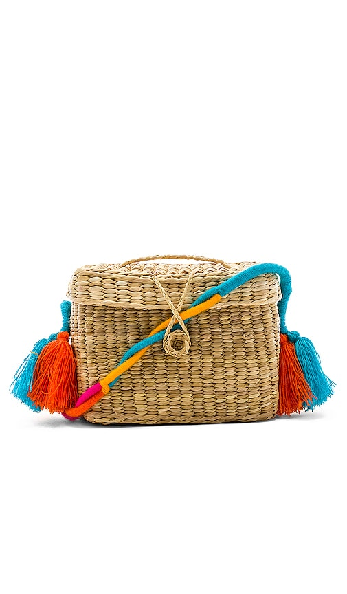 Roge Small Colored Braid Strap Bag