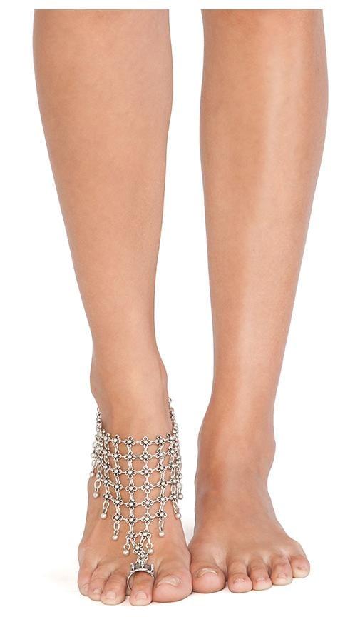 Queen's Veil Anklet