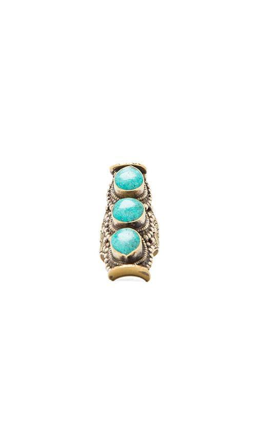 Natalie B 3 Stone Ring
