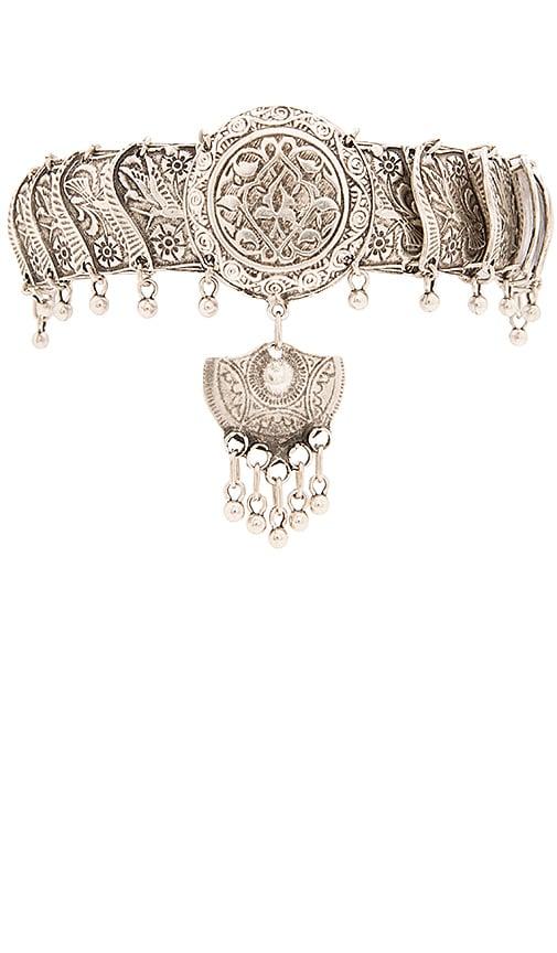 Natalie B Jewelry Tavi Necklace in Silver