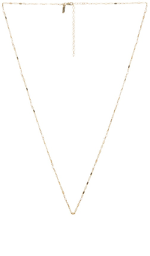 Natalie B Jewelry Boho Necklace in Gold