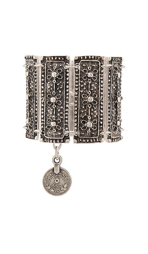 Natalie B Jewelry Calypso Bracelet in Metallic Silver