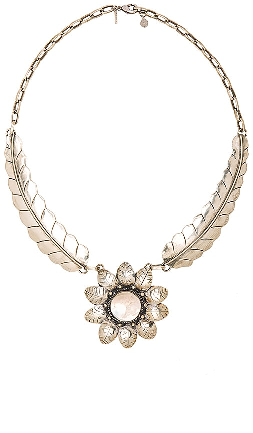 Natalie B Jewelry El Sol Necklace in Abalone