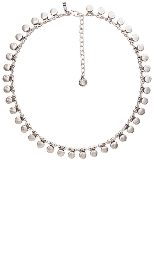 Natalie B Jewelry Sea Drops Necklace in Metallic Silver