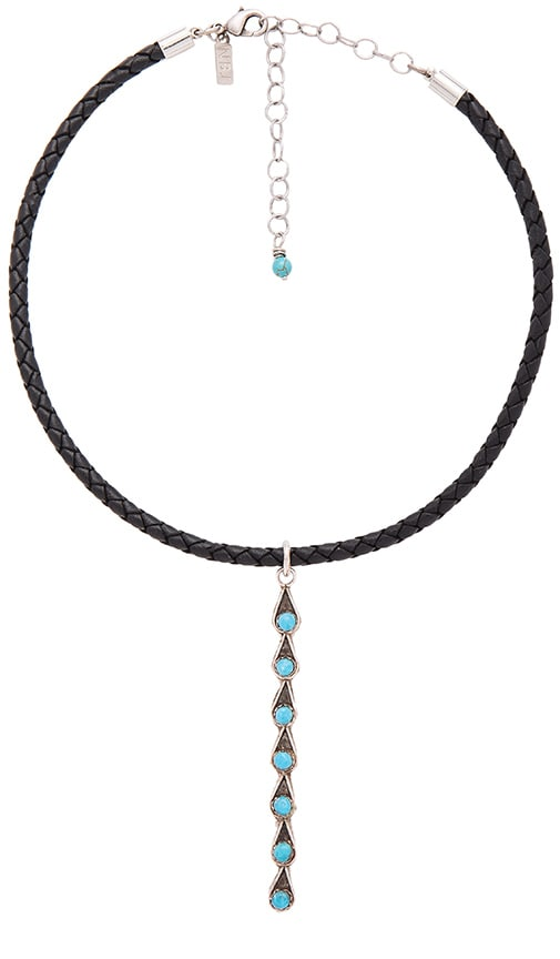 Natalie B Jewelry Desert Drop Choker in Black