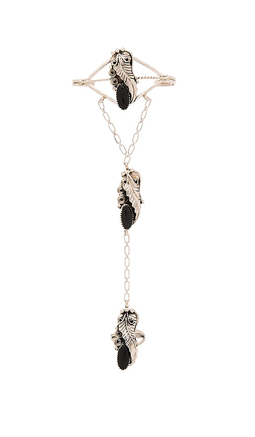 Natalie B Jewelry Desert Trails Bracelet in Metallic Silver