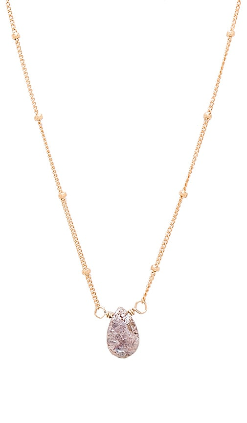 Rose Silverite Necklace