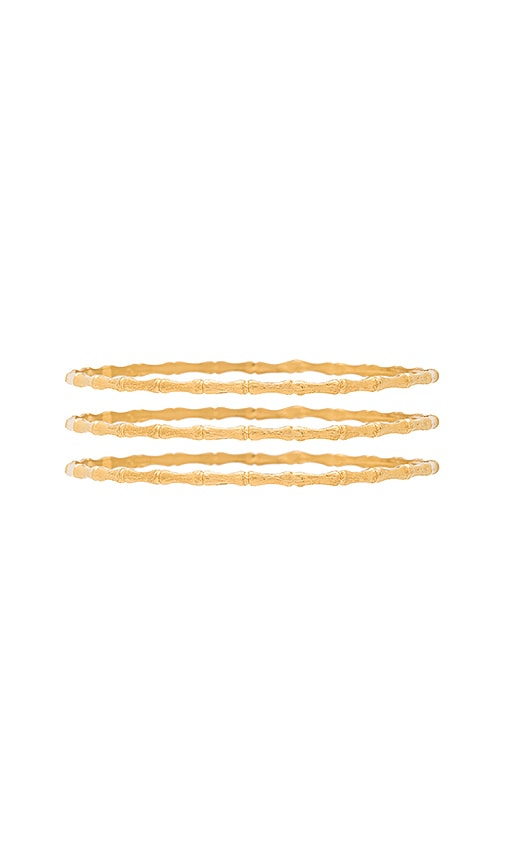 Bamboo Bangle Set