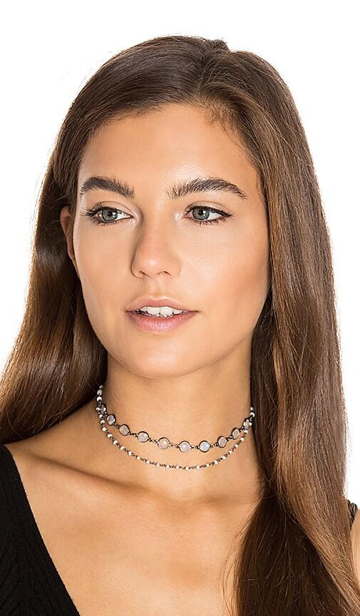 Natalie B Jewelry x REVOLVE Sorella Choker in Metallic Silver