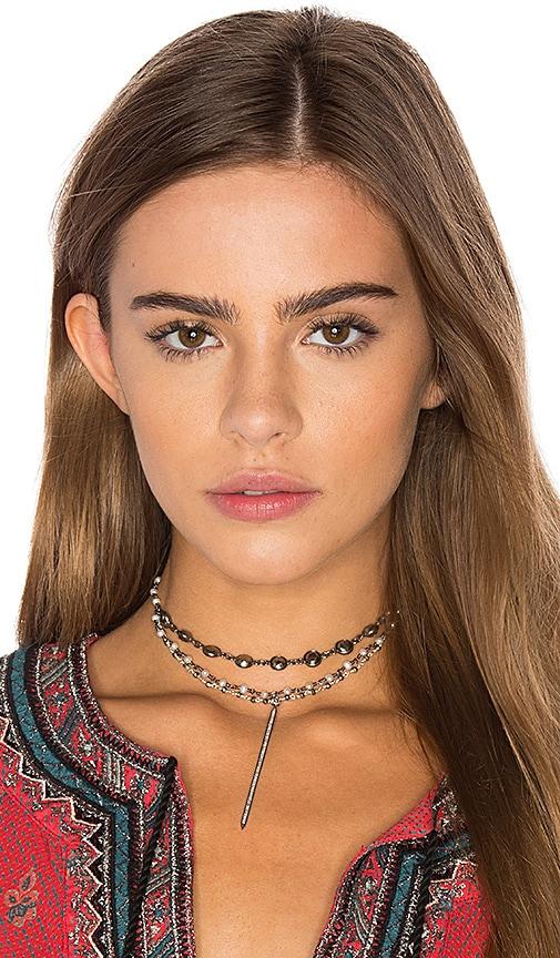 Natalie B Jewelry x REVOLVE Chelsea Choker in Metallic Silver