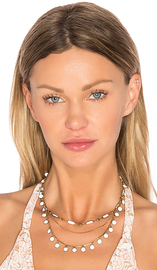 Natalie B Jewelry Havana Choker in Metallic Gold