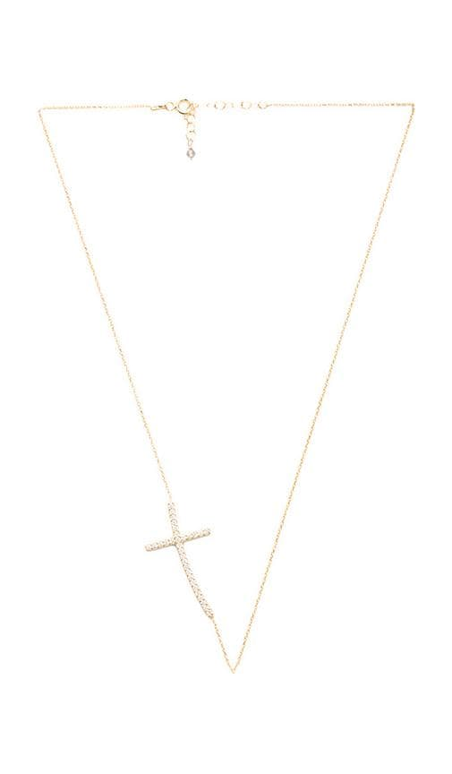Ottoman Sideways Cross Necklace