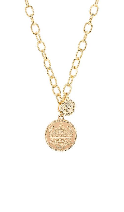 Seine Double Coin Necklace