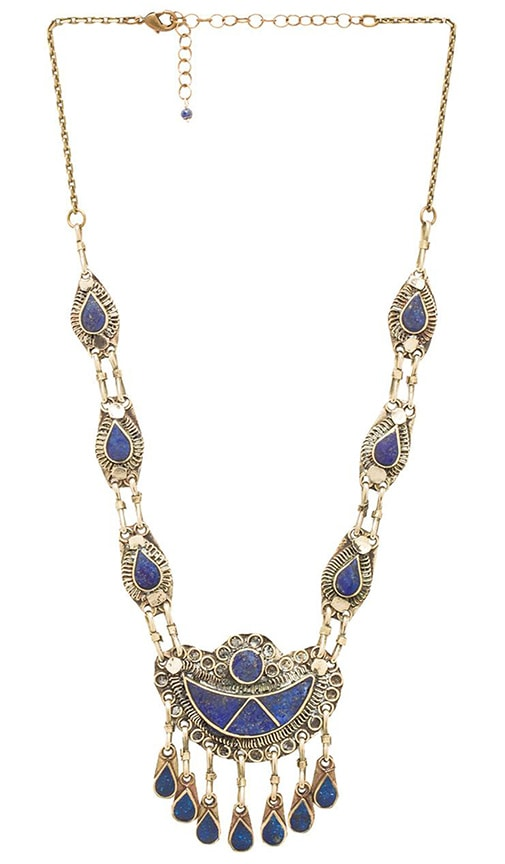Natalie B Jewelry 7 Seas Necklace in Metallic Bronze