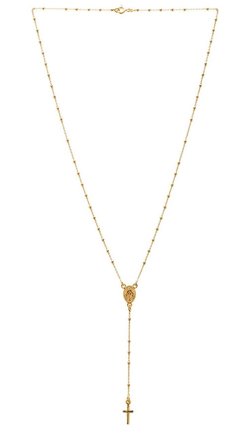 Natalie B Roma Rosary Necklace