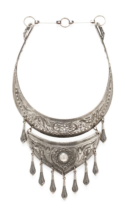Natalie B Jewelry Protector Necklace in Silver