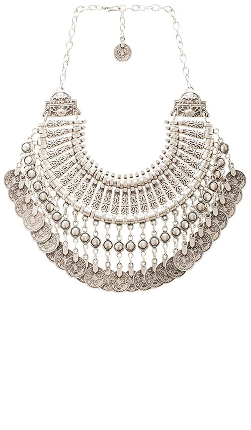 Natalie B Jewelry Natalie B Fit for a Queen Necklace in Silver