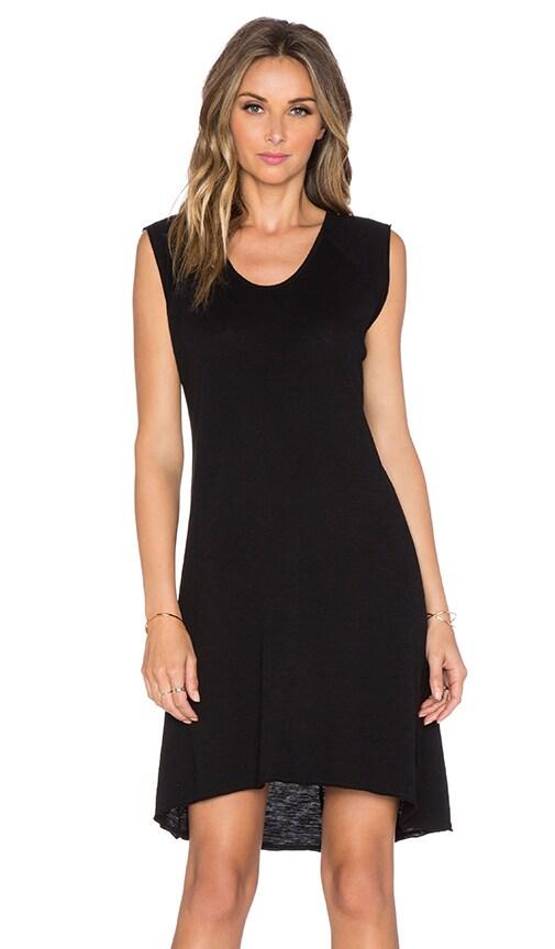 Nation LTD Heather Tee Dress in Black