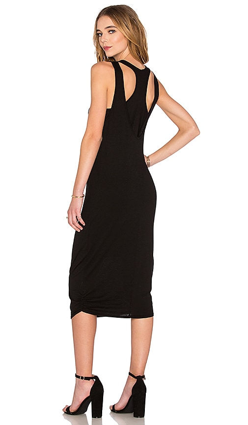 Nation LTD Merrill Tank Dress in Black