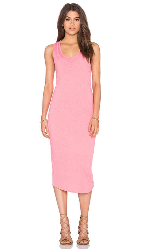 Nation LTD Merrill Tank Dress in Pink