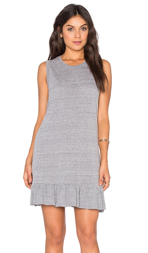 Nation LTD Serena Mini Dress in Gray