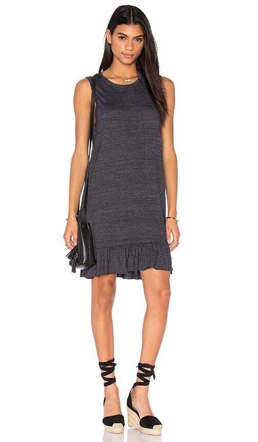 Nation LTD Serena Mini Dress in Gray