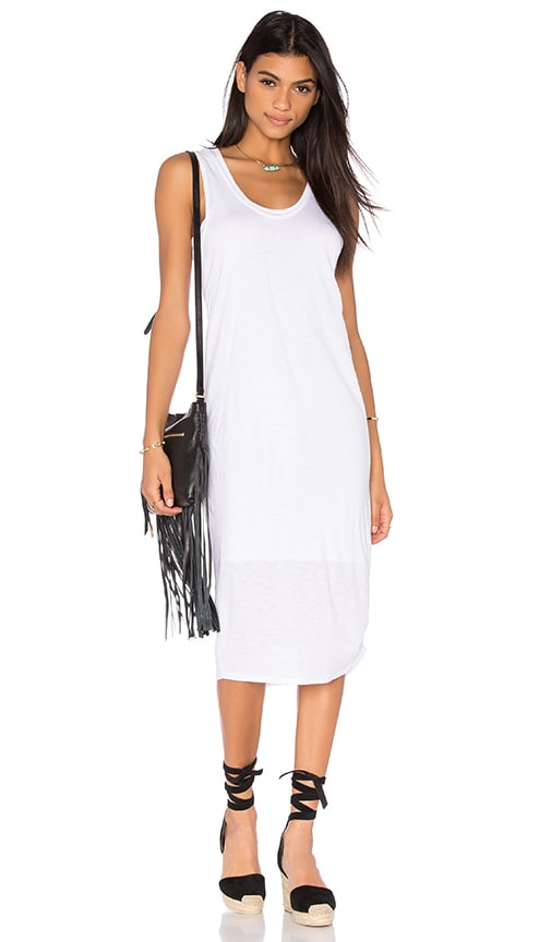 Nation LTD Merrill Tank Dress in White