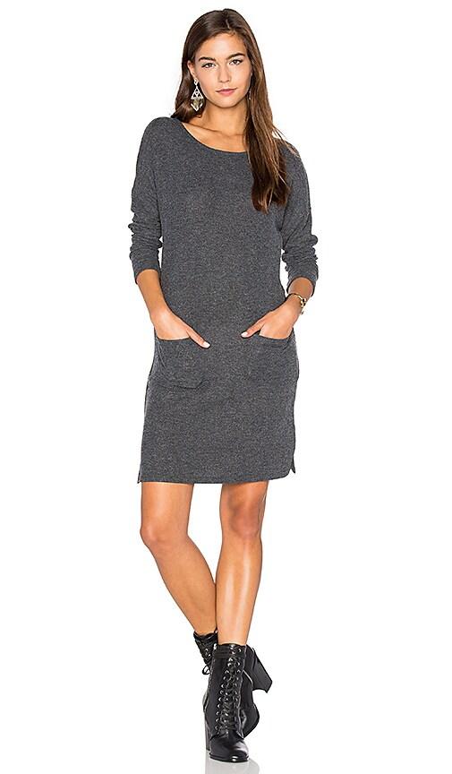 Nation LTD Lena Dress in Charcoal