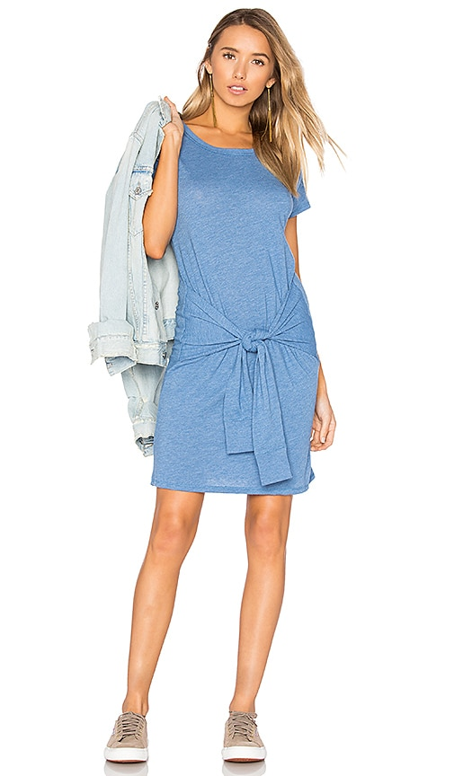 Nation LTD Evelyn Tee Dress in Blue