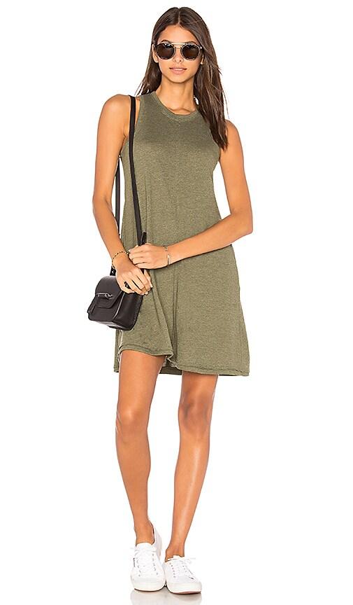 Nation LTD Phoebe Tank Dress in Green