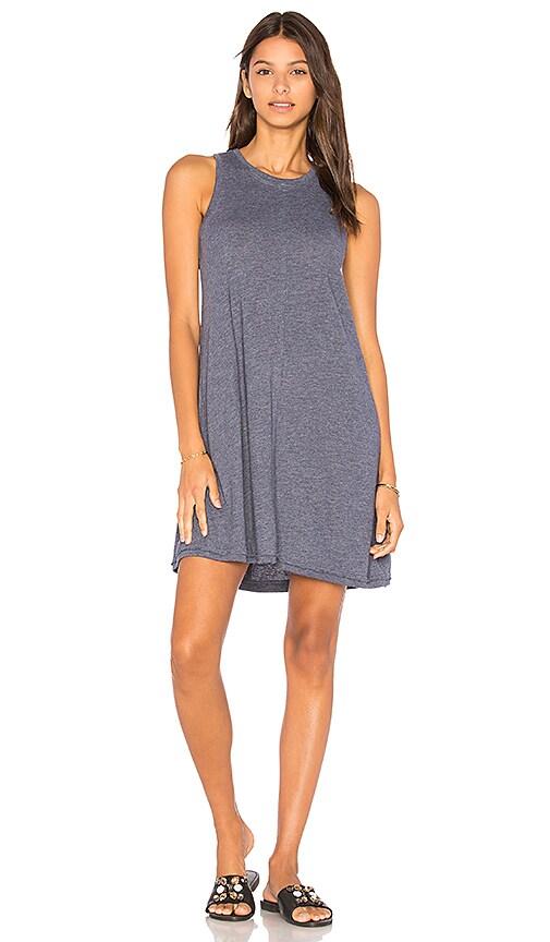 Nation LTD Phoebe Tank Dress in Blue