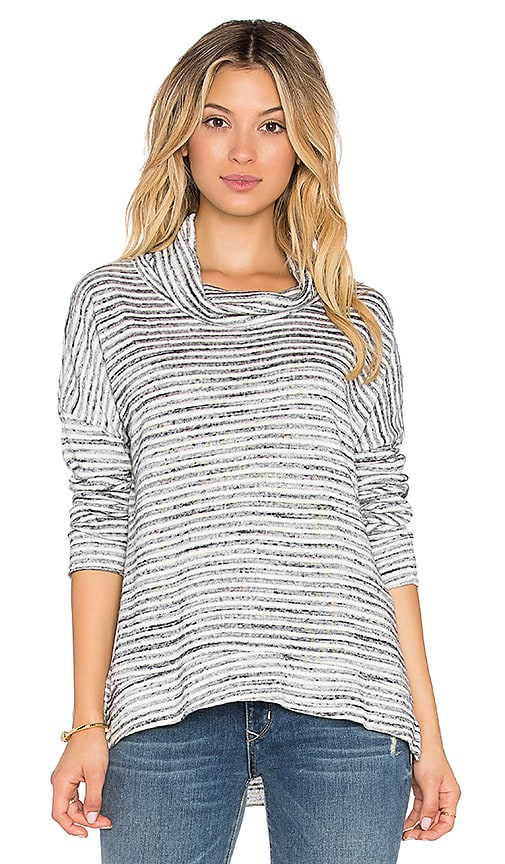 Nation LTD Hope Stripe Sweater in Striped Heather