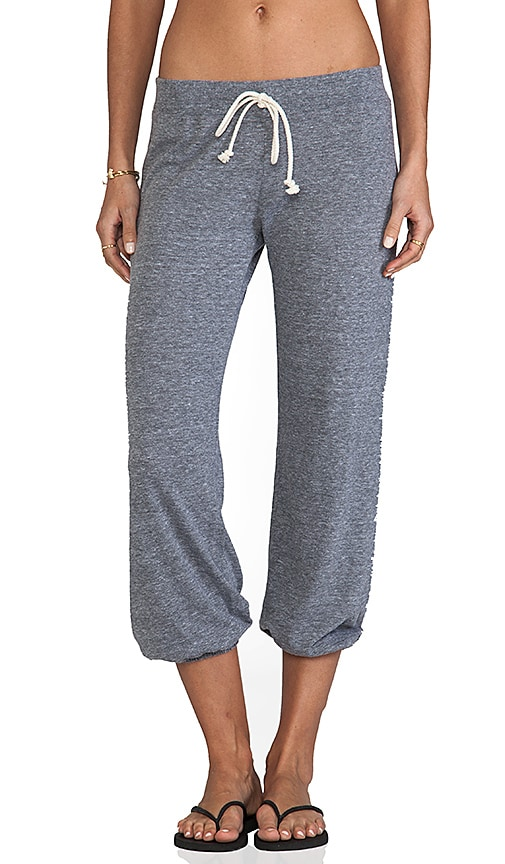 Nation LTD Medora Capri Sweats in Heather Grey