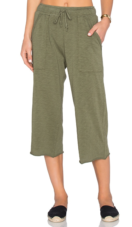 Nation LTD Candy Culottes Pant in Green