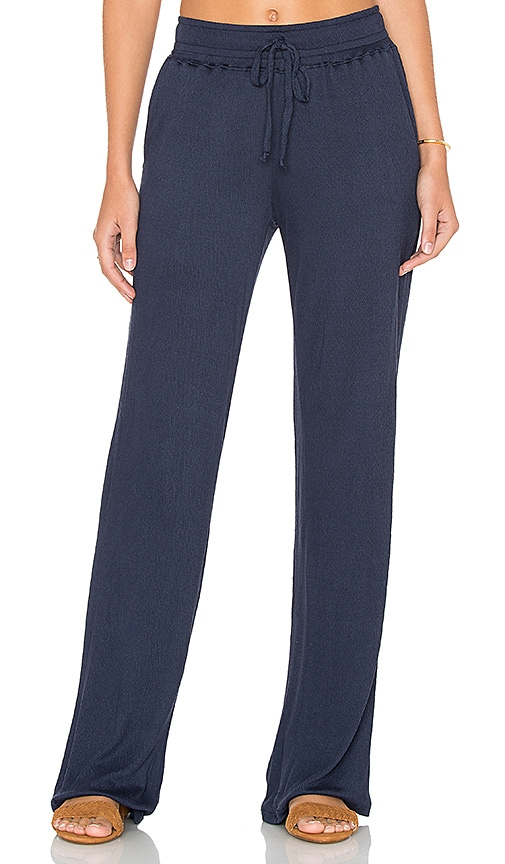 Nation LTD Twiggy Beach Pant in Navy