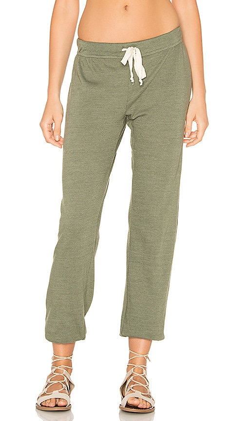 Nation LTD Medora Capri Sweatpant in Olive