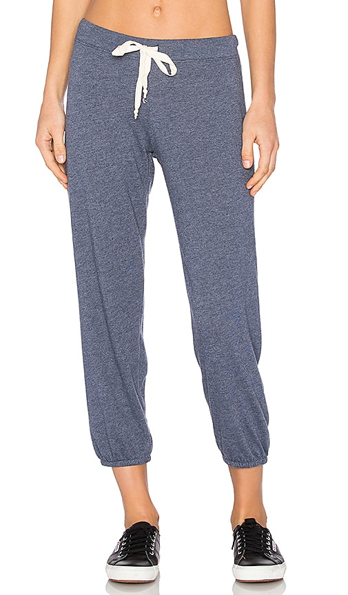Nation LTD Medora Capri Sweatpant in Blue
