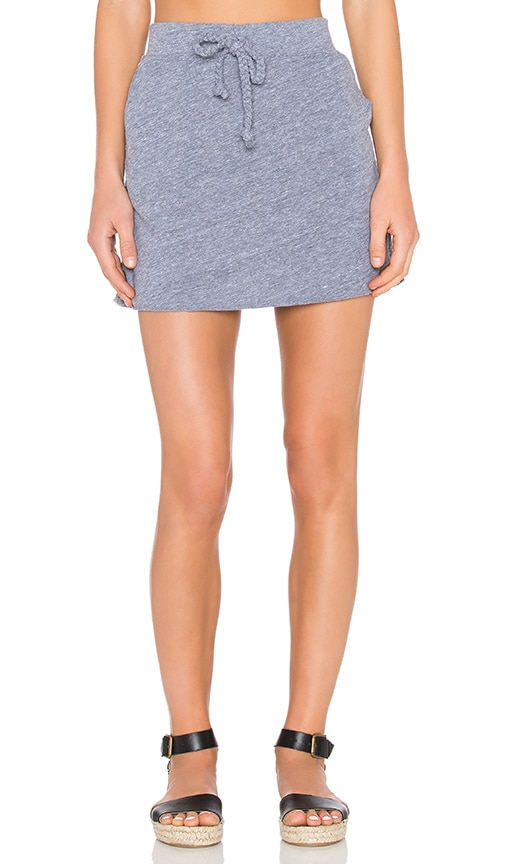 Nation LTD Melissa Mini Skirt in Gray