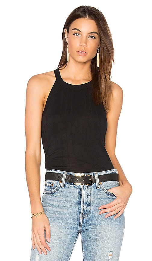 Nation LTD Mattie Halter Top in Black