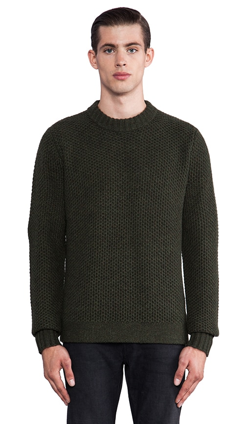 Hive Crew Knit Sweater