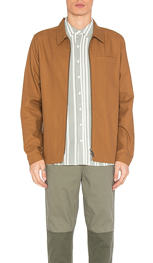 Native Youth Hemmick Jacket in Burnt Orange