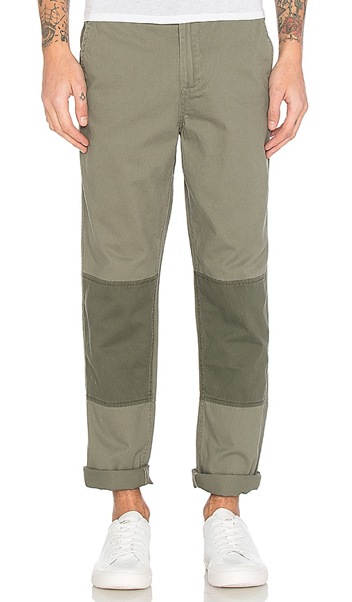 Native Youth Anderby Pant in Olive