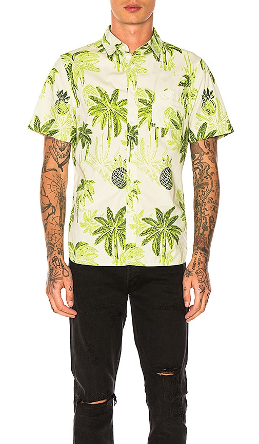 Native Youth Horden Shirt in Green