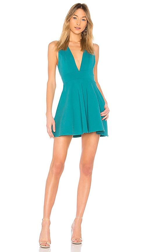 NBD Syden Dress in Blue